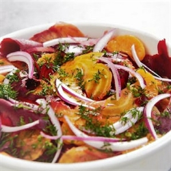 Picture of Ribbon Beet Salad with Lemon Vinagrette